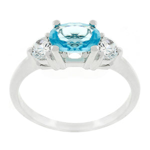 Oval Serenade Triplet Ring Size 6