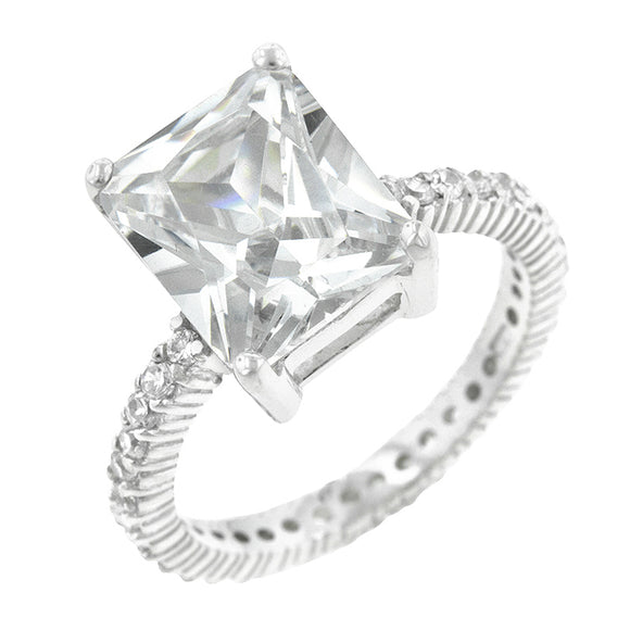 Radiant Cut Engagement Ring Size 5