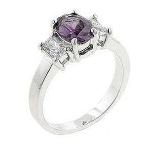 Lilac Engagement Ring Size 6