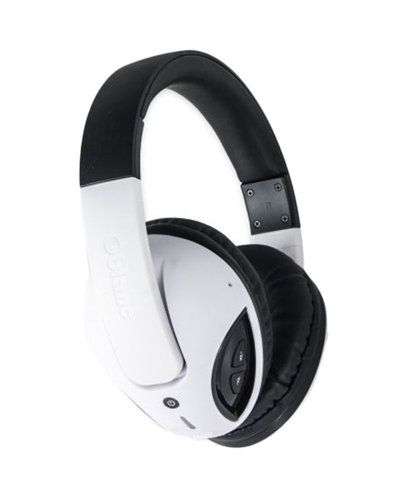 Oblanc COBRA200BT Bluetooth V2.1+EDR Class 2 A2DP AVRCP Headphones with Built-in Microphone WHITE