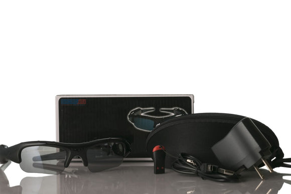 320x240 Resolution Digital Sunglasses Video Audio Recorder