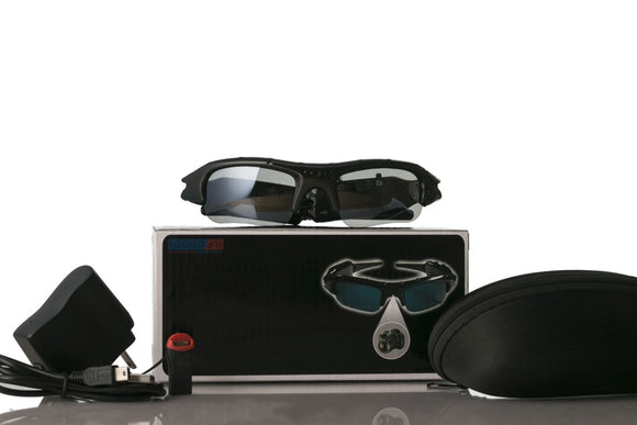 Digital Video Camcorder Audio Recorder Sunglasses for Investigators