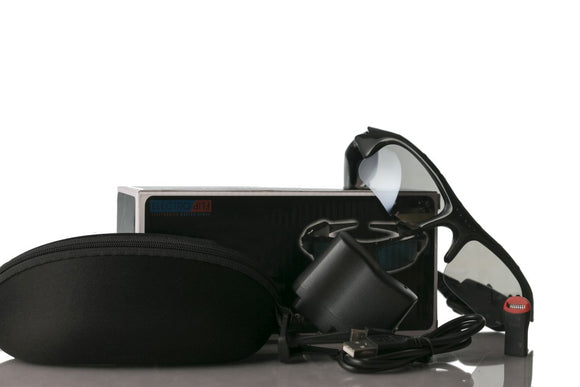 Video & Audio Recording HD Sunglasses w/ MicroSD Slot