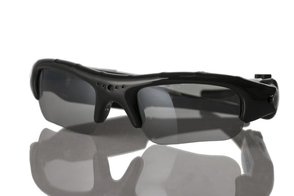 Video Recorder Digital Sunglasses w/ MicroSD Slot for Extra Storage