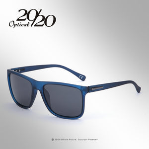 20/20 Brand Polarized sunglasses Men UV400 Classic Male Square Glasses Driving Travel Eyewear