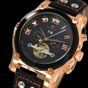 High Quality Tourbillon Men Watches Top Brand Luxury Waterproof Watches Men Automatic Mechanical Wrist Watches relogio masculino