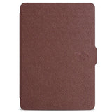 Wake Up and Sleep Leather Smart Cover Case for Amazon Kindle Paperwhite 1/2 + Magnet + Screen Protector + Touch Stylus Pen Free
