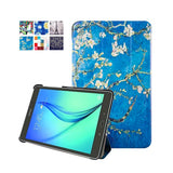 "For galaxy Tab S2 9.7 Protective PU Leather cover case For samsung galaxy Tab S2 9.7 SM-T810 T815 9.7"" tablet +stylus+film"