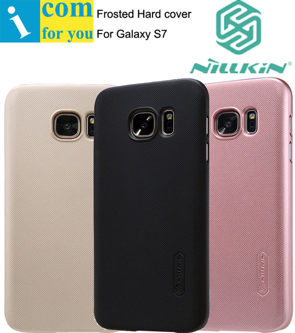 Nillkin Super Frosted Shield Cover Case For Samsung Galaxy S8 S7 edge S6 Plus with 1pcs Screen film
