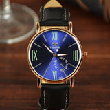 2017 Yazole Watch Fashion Student Leisure Men Watches Business Men Luminous Roman Designer Watch Relogio Masculino Quartz-watch