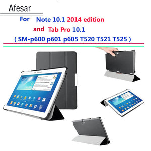 Afesar P600 P601 T520 521 Ultra Slim cover for Samsung Galaxy Note 10.1 2014 Edition/Galaxy Tab Pro 10.1 smart case Auto Sleep