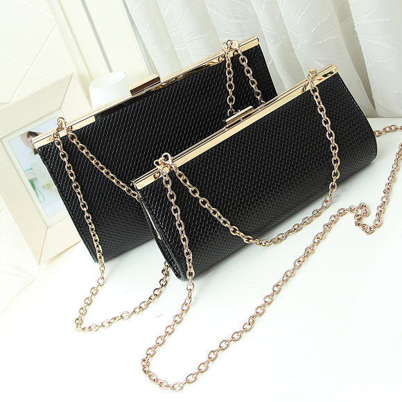 Black White Fashion Women Designer Chain Crossbody Bag Ladies Shoulder Bag Clutch Bag Bolsa Franja Girl Luxury Party Evening Bag