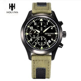 Holuns Luminous Date Chronograph Special Male Watch Outdoor Sports Watch Military Waterproof Men's Wristwatch Reloj Hombre Gift