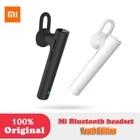 XIAOMI Original MI bluetooth headset Youth edition earphones Handsfree For iPhone Samsung LG android Phone wind noise canceling