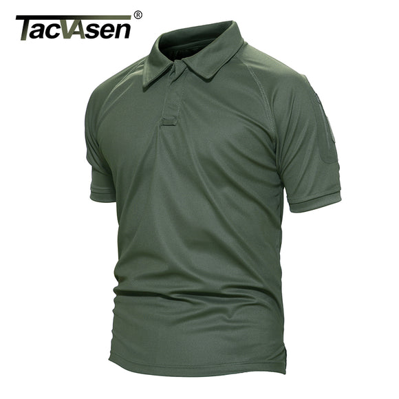 TACVASEN New Summer Army T Shirt Men Military Shirt Men's Tactical Combat T Shirts Breathable Camouflage -T-shirt TD-YCXL-015