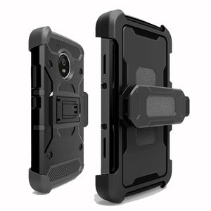 new styles 57041 f00cb Case For Motorola Moto G5 / Plus Heavy Duty Hybrid Rugged Case Shockproof  Belt Clip Holster Cover For Motorola Moto G5 Plus @