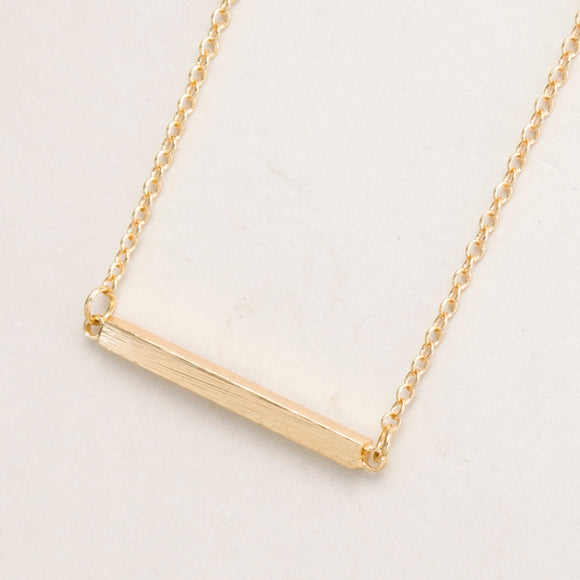 Shuangshuo 2017 New Fashion Square Bar Clavicle Necklace for Women Simple Fine Diy Pendant Necklaces Long Chain Necklaces