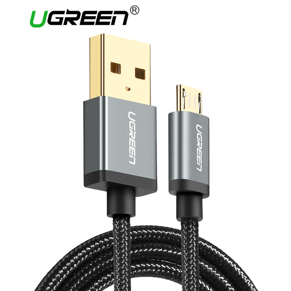 Ugreen Micro USB to USB Cable for Samsung HTC Huawei Fast Charger USB Data Cable for Xiaomi Android Mobile Phone Cables Microusb
