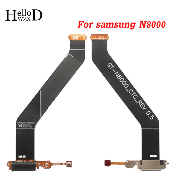 Factoy Price Top Quality Charger Port USB Charging Dock Connector Flex Cable For Samsung Galaxy Note 10.1 GT-N8000 N8010