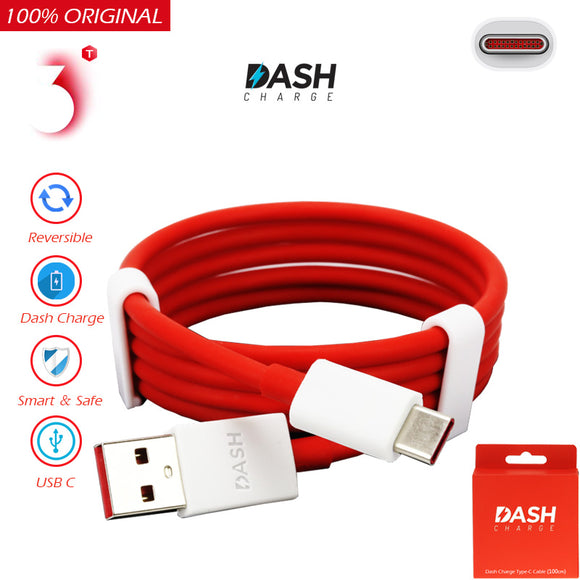 Original for Oneplus 5/3 Cable Charger USB 3.1 Type C Dash Charger Type-C Fast Charging Data Sync USB-C Cabel For One Plus 3T