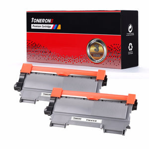 2pcs/lot TN450 2220 2225 2250 2275 2280 27J TN420 2210 2215 2230 2235 Toner Cartridge for Brother 2240D 2250DN DCP7060D MFC7360