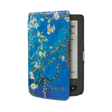 PU Leather Case Cover funda for Pocketbook touch 614/624/626/640 Pocket book basic Lux Aqua ereader e-Books Case+film+stylus