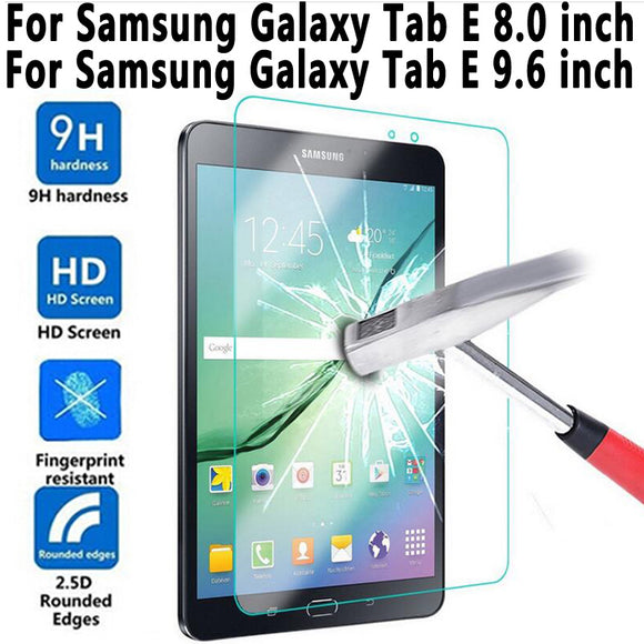 Tempered Glass For Samung Galaxy Tab E 8.0 T375 T377 T377R T377P T377W Screen Protector for Samung Galaxy Tab E 9.6 T560 T561
