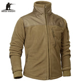 Mege Brand Tactical Clothing military Fleece Autumn Winter Men's Jacket Army Polar Warm Male Coat Outwear jaquetas masculino