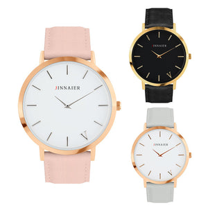 Simplicity Classic Women Watch Famous 2016 Luxury Brand Leather Band Wrist Men Quartz Watches Relogio Masculino Wristwatch