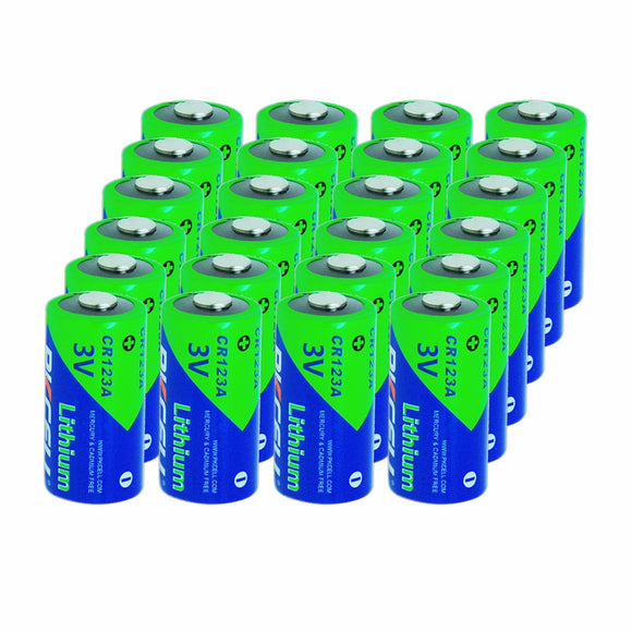 24pcs PKCELL 1500mAh CR123A CR123 CR123A 16340 3V Lithium Battery For Lashlights, Digital Cameras, Camcorders&Electronic Devices