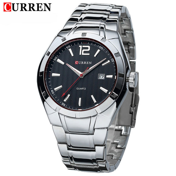 2016 New CURREN Luxury Brand Men Sport Watches Men Quartz Watch Stainless Steel Men Fashion Casual Wrist Watch
