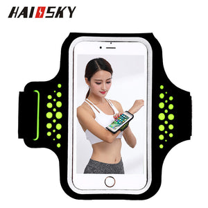 Haissky 5.5'' Universal Waterproof Running Sport Phone Case For Samsung Galaxy S8 Plus S7 S6 edge Note 5 iPhone 5 6 7 Plus Cover