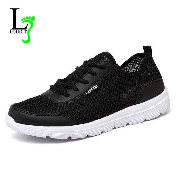 Men Shoes 2017 Summer Sneakers Breathable Casual Shoes Fashion Comfortable Lace up Men Sneakers Shoes Plus Size 38-48