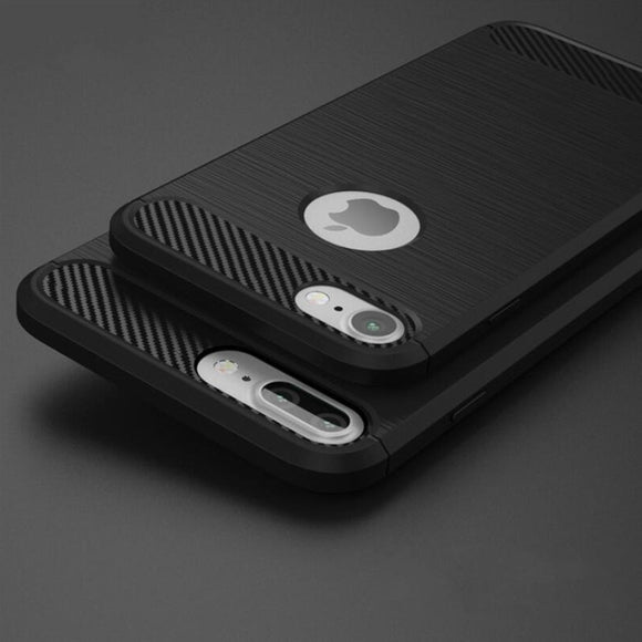 for iphone 7 plus iphone 8 plus Case Black Luxury Case for Apple iphone 6S 6 5 5S SE Soft Back Cover for iphone X Accessories