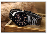 SINOBI Watch Men Wirst Watch Waterproof Full Steel Watches Fashion Men's Watch Clock saat reloj hombre relogio masculino montre
