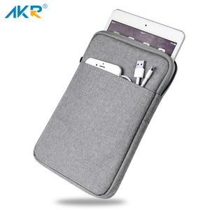AKR Shockproof 9.7 inch Tablet Sleeve Case for iPad 4 2 3 inch iPad Pro 10.5 inch Cover Zipper Pouch thick Hot