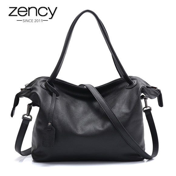 New Arrivals European And American Style Natural Leather Women Handbags Simple Fashion Ladies Shoulder Messenger Bags