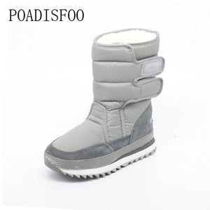 2016 Winter Women's Snow boots 8 Color Warm waterproof Wedge Boot Cotton inline winter shoes .ZYMY-xz-29