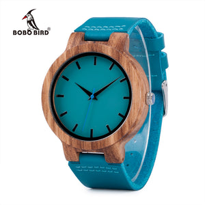 BOBO BIRD C28 High Quality Bamboo Wood Watch For Men And Women Japanese miytor 2035 Quartz Analog Casual Watch With Gift Box