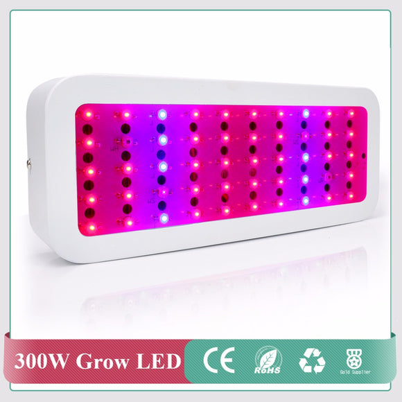 Mini Full Spectrum LED Grow Light 300W Red+Blue+IR+UV Flower Plants Vegetable Ultraviolet Lamp Plant Growth Lamp 2017 Hot