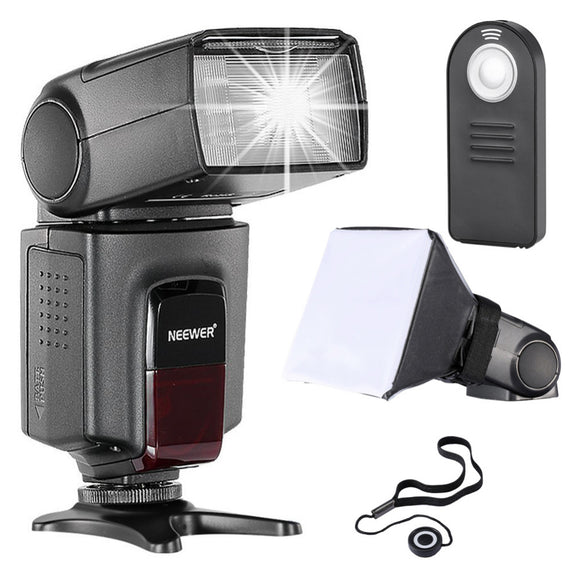 Neewer TT560 Flash Speedlite Kit for Canon Nikon Sony Pentax DSLR Cameras with standard Hot Shoe TT560 Flash Remote Control etc