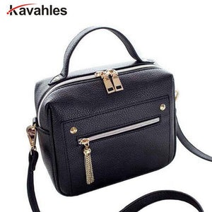 Female Minimalist Crossbody Bag Small Women Shoulder Bag Tassel Women Messenger Bags Tote Handbag Designer Bolsa Feminina PP-485