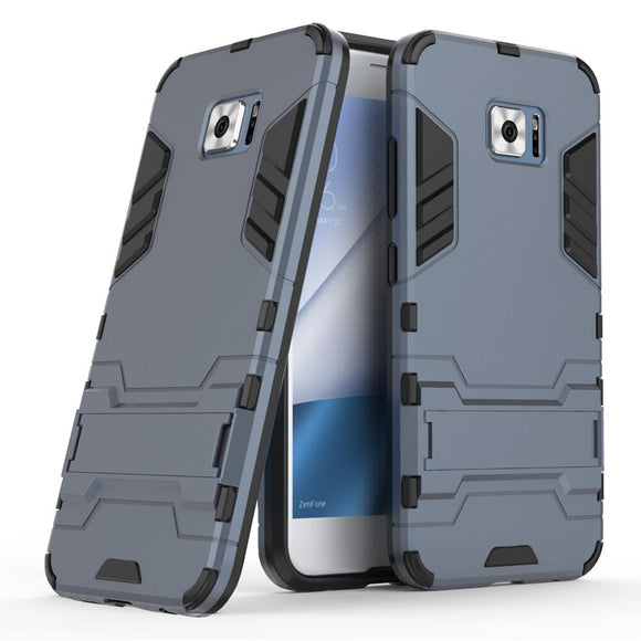 Case For ASUS Zenfone V V520KL Hybrid Armor Case With Kickstand 2in1 TPU & PC Shockproof Hard Cover For ASUS Zenfone 4V/V V520KL