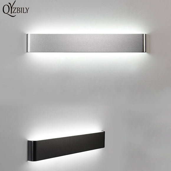 LED Wall Lamp Aluminum Wall Light For Living Room Bathroom Bedroom Mirror Light Luminaire Abajur Wandlamp Sconce Lampara Pared