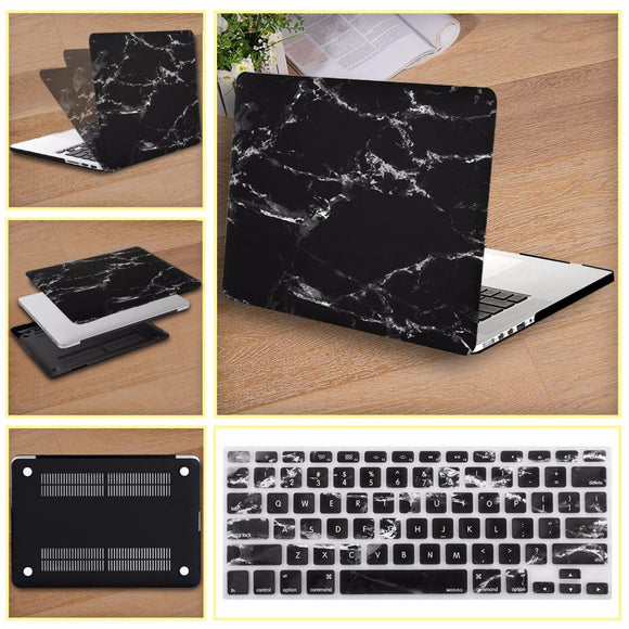 Mosiso Marble Shell Case for Macbook Pro 13 2013 2014 2015 Hard Cover for Mac Book Air 13 + Silicone Keyboard Protector