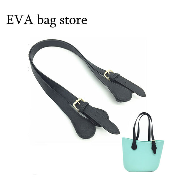 2017 New 1 pair 2 pcs of Size 47cm 65 cm 70cm handles For Obag Hand Women Handbag for O Bag Silicon Bag Accessories