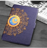 Zimoon Cover For Amazon Kindle Paperwhite 1/2/3 Van Gogh Design Skin Auto Wake Up/Sleep 6 Inch Case With Screen Protector