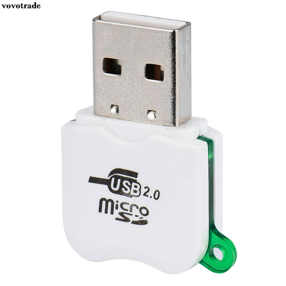 vovotrade High Speed Mini USB 2.0 Micro TF T-Flash Memory Card Reader Adapter USB version Micro SD 1.1/2.0 Micro SDHC 2.0