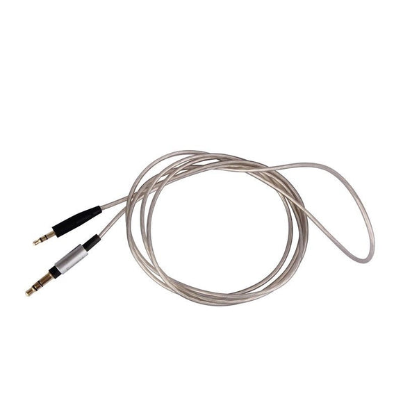 Top Quality Upgrade Replacement silver Audio Cable Wire For JBL EVEREST 300 700 On-ear /Elite headphones headset