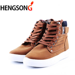 1pair Spring Autumn Shoes Warm Men Shoes Tenis Masculino Male Men's Comfortable Casual Shoes Canvas Botas PA871485
